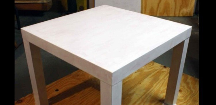 How to upgrade a cheap IKEA table.
