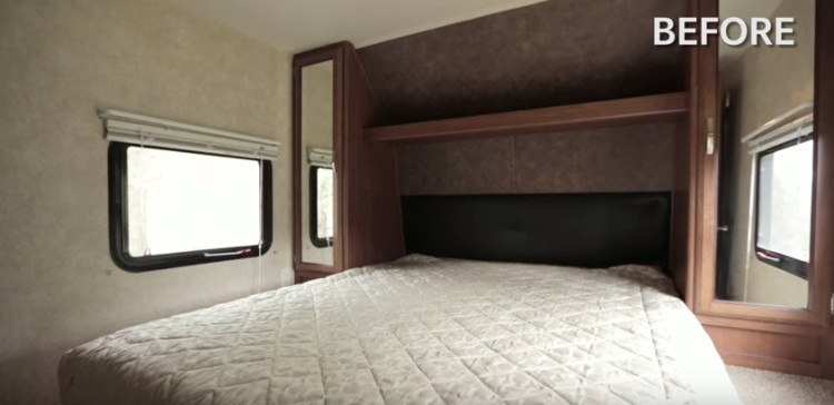 Luxurious makeover of a tiny trailer.
