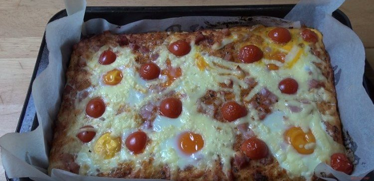 Delicious potluck brunch casserole.