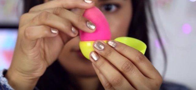 beauty blender egg