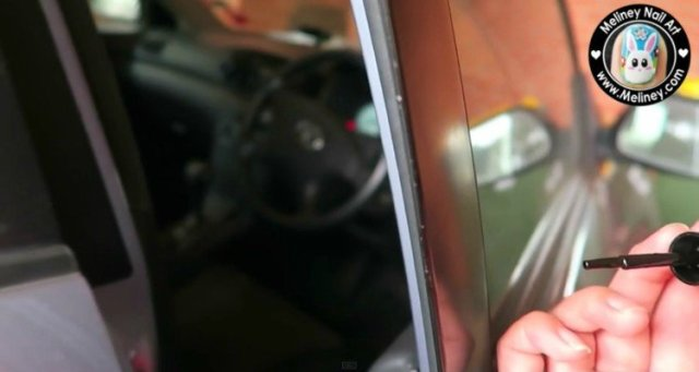 Nail polish car