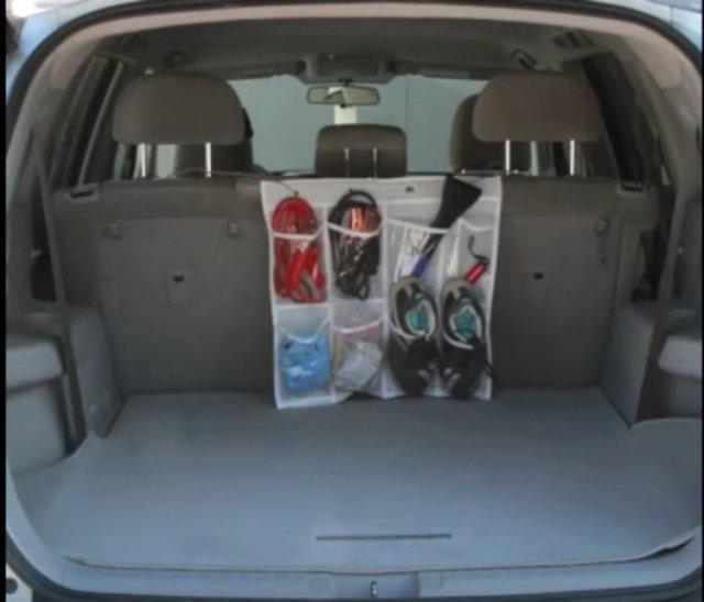 trunk shoe organizer