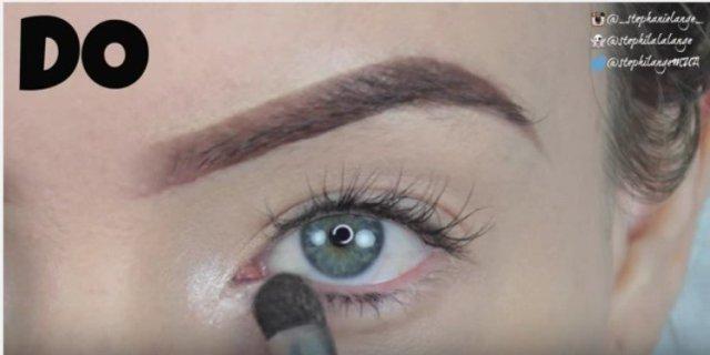 eyeshadow shimmer