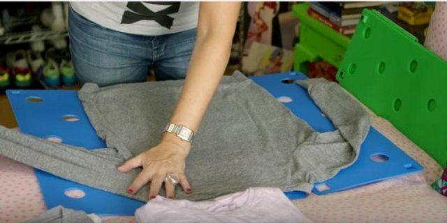 long sleeved fold
