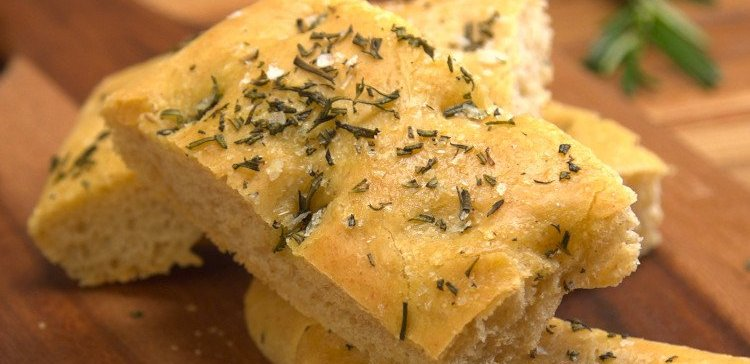 Rosemary Focaccia Bread Finished Product