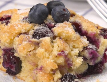 Buttermilk Blueberry Breakfast Cake featured image