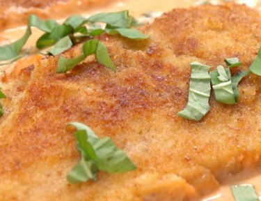 basil cream chicken featured image
