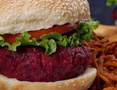 Beet and Feta Burger featured image