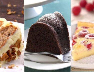 37 Best Easy Homemade Cake Recipes For Any Celebration