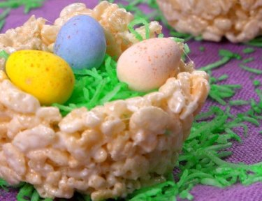 Rice Krispie Nests featured image
