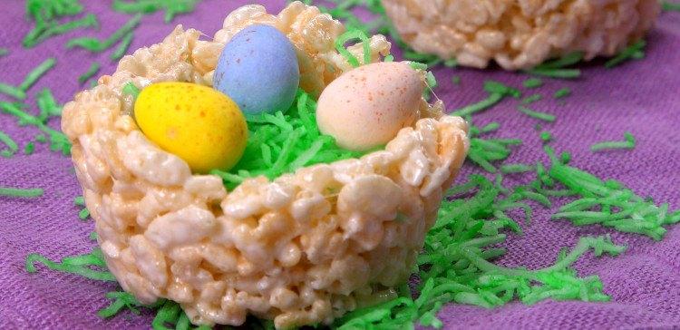 Rice Krispie Nests featured image
