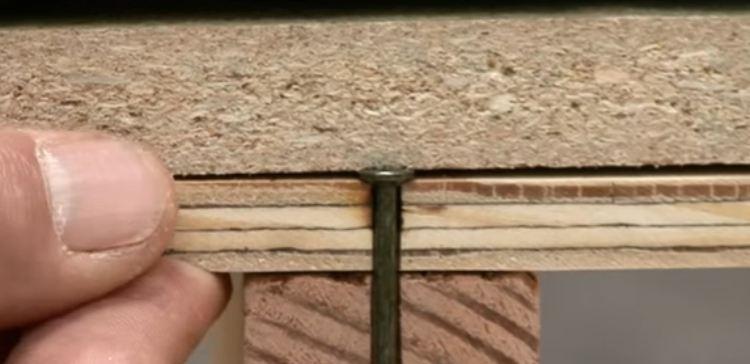 How to repair squeaky floorboards