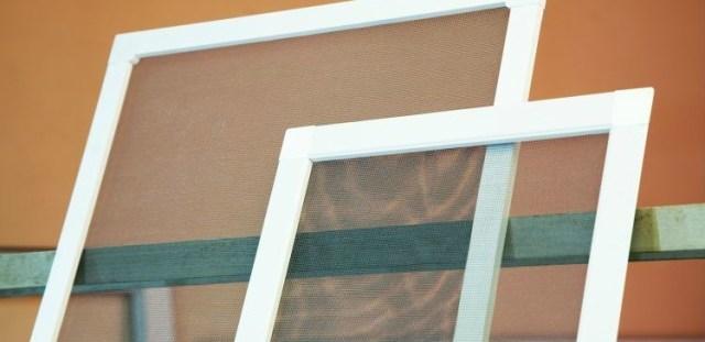 Cleaned window screens.