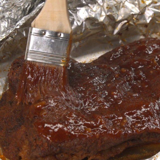 Oven-Barbecued Beef Brisket BBQ sauce