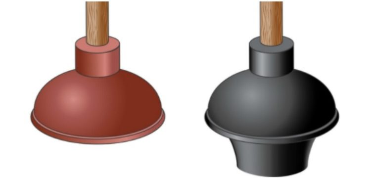 The 2 Types Of Plungers And Which Clogs They Fix Tiphero