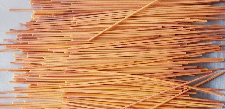 Image of golden roasted pasta.