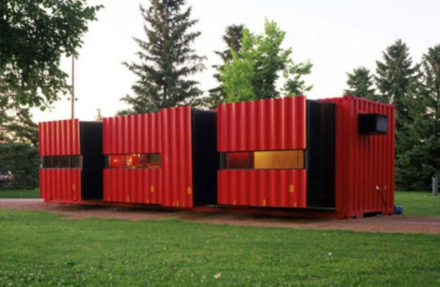 sliding container home
