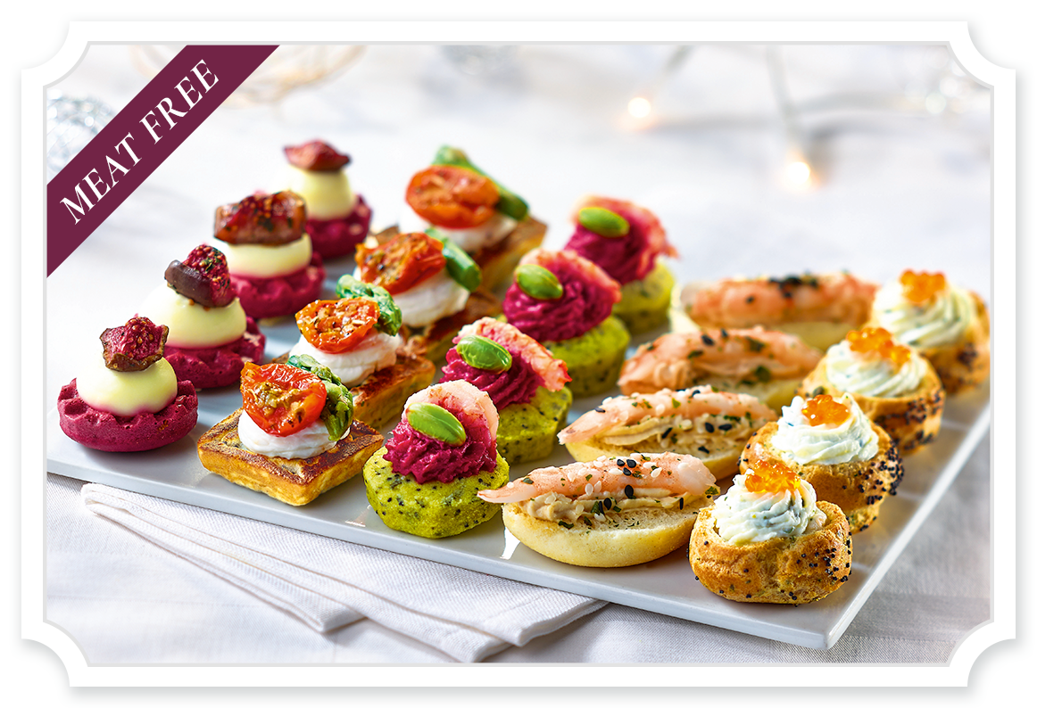 Canapés Canapes Tipiak Foodservice The Canapes Range