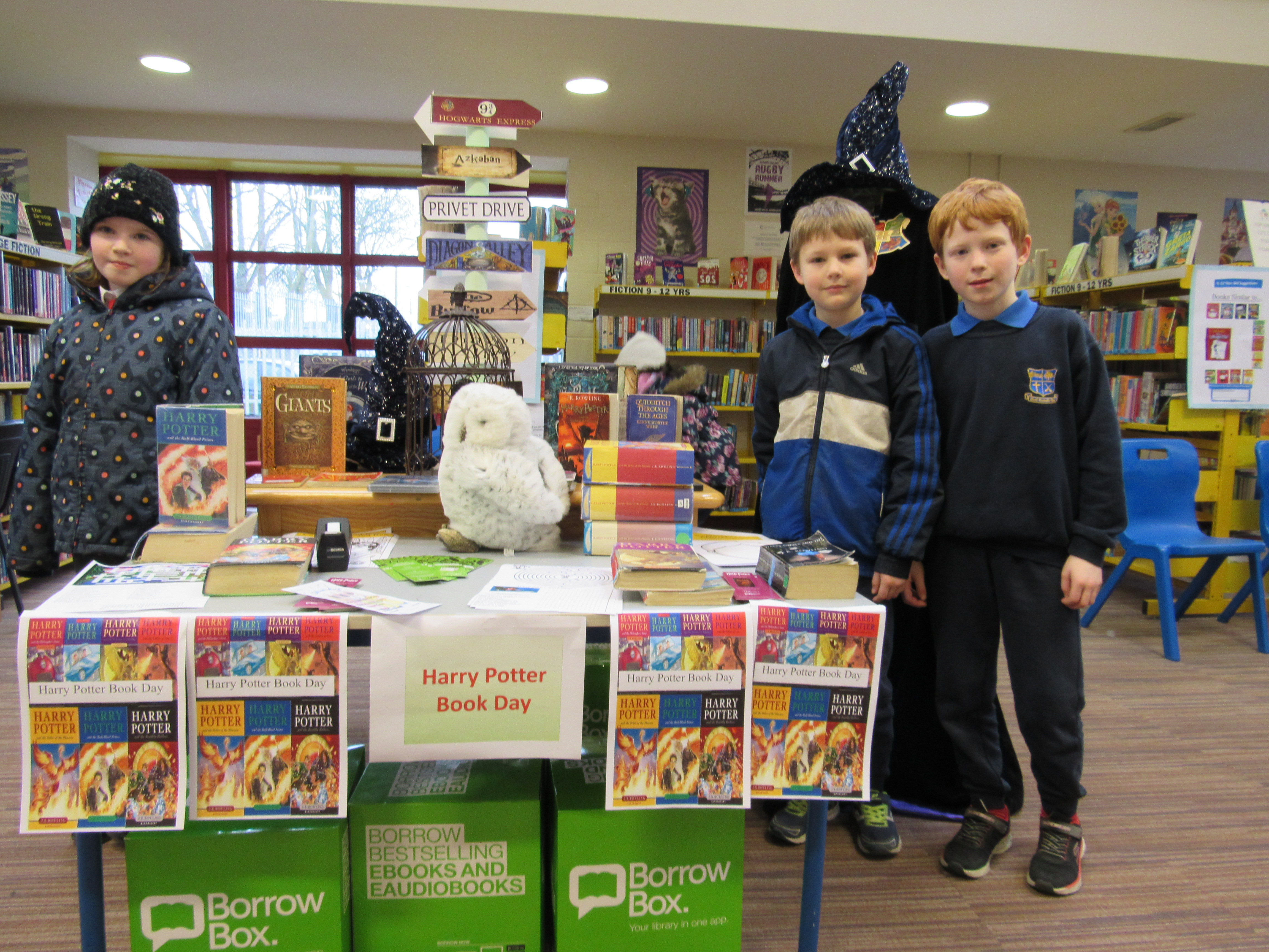 Harry Potter Display Harry Potter Book Day In Nenagh Library Tipperary