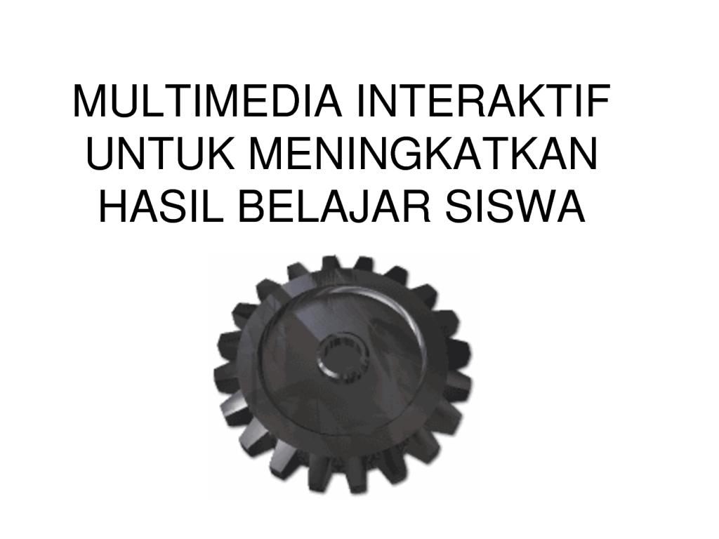 Membuat Sebuah Produk Multimedia