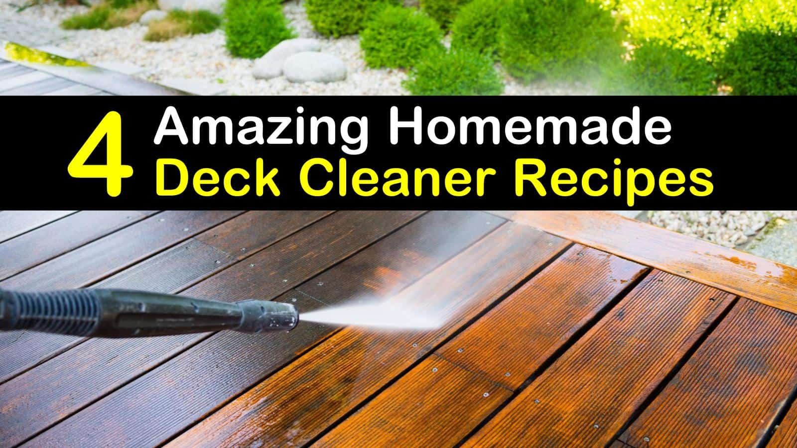 Diy Deck Cleaner Diy Deck Cleaner Examples And Forms
