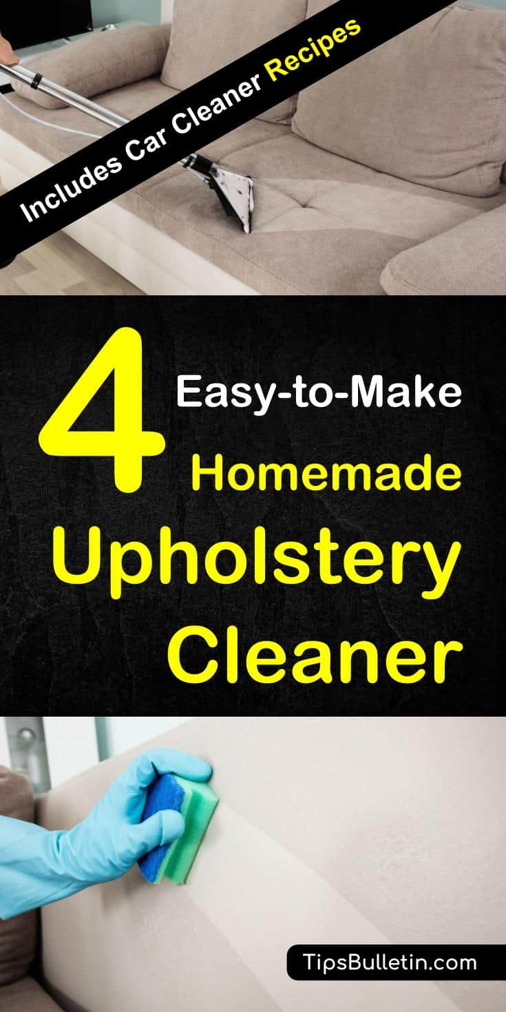 Sofa Foam Cleaner 4 Homemade Upholstery Cleaner How To Clean Upholstery