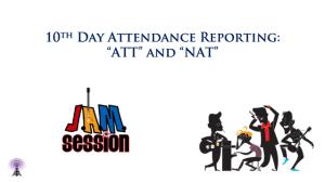 Slide for Jenzabar Jam 10th Day Attendance Report Podcast