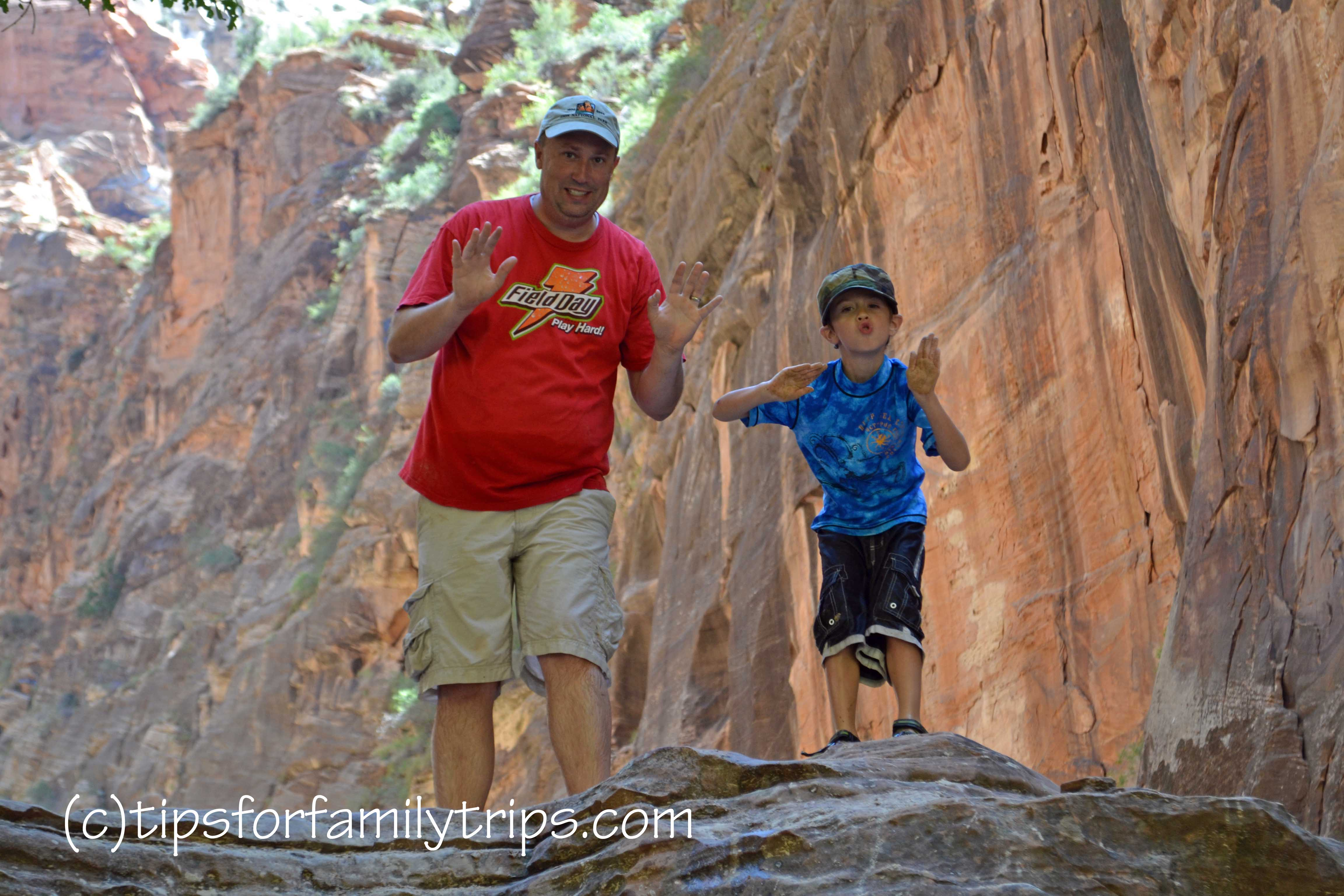 Tips For Hiking The Zion Narrows With Kids Tips For