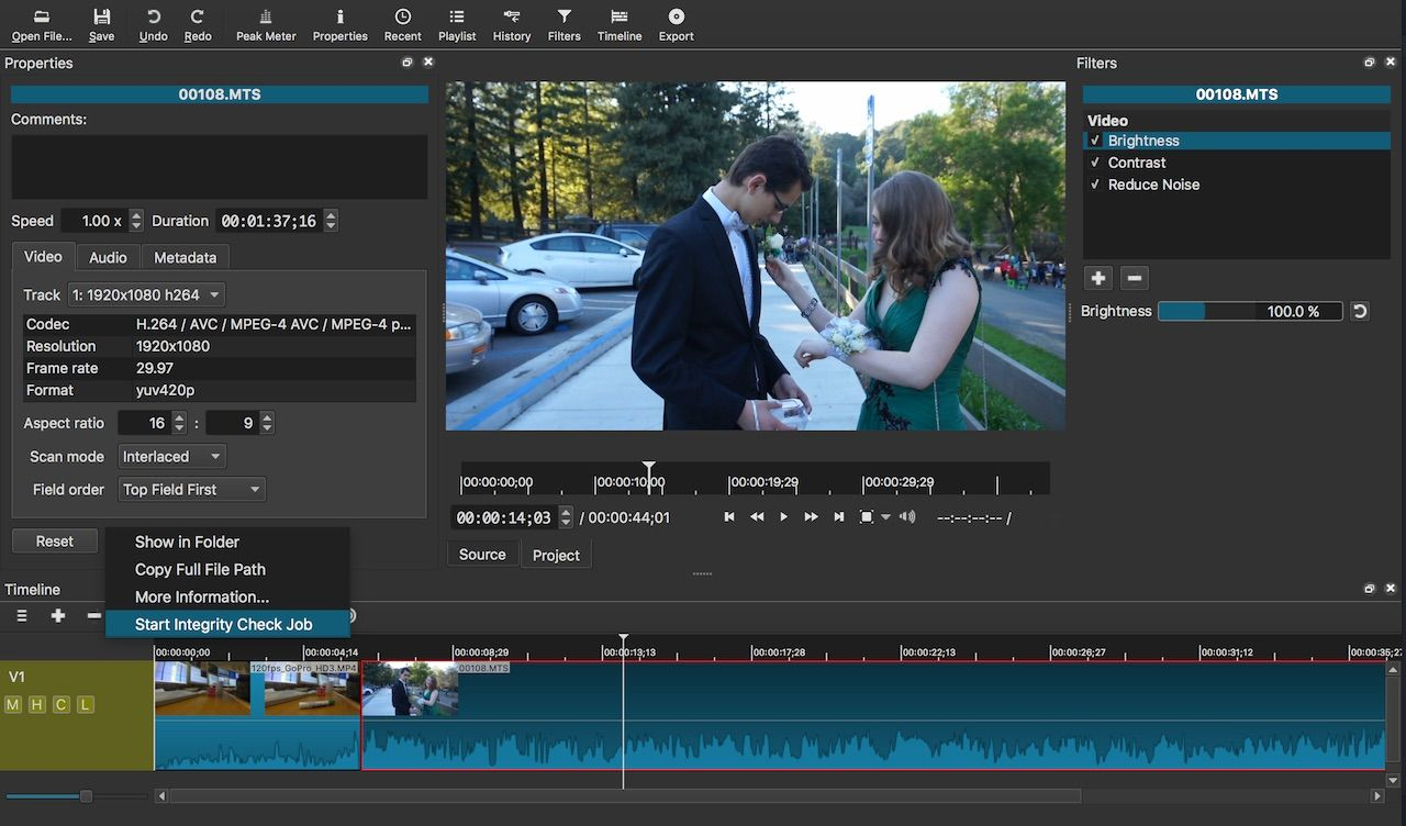 Editor Video Libre How To Install Shotcut Video Editor 16 11 In Ubuntu 16 04 16 10