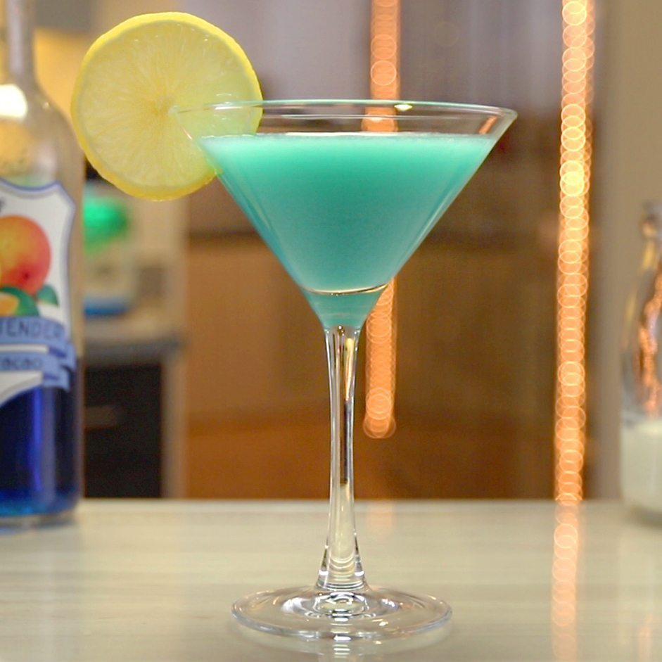 Blue Curacao Cocktail Alkoholfrei Blue Angel Cocktail Tipsy Bartender