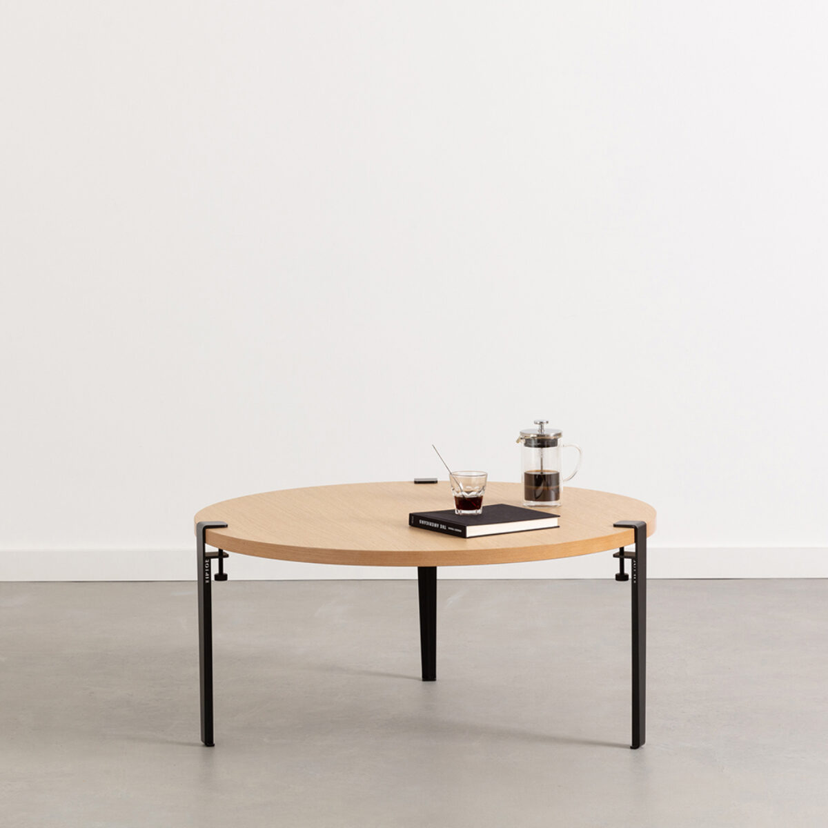 Table Basse Salon Ronde Table Basse Brooklyn