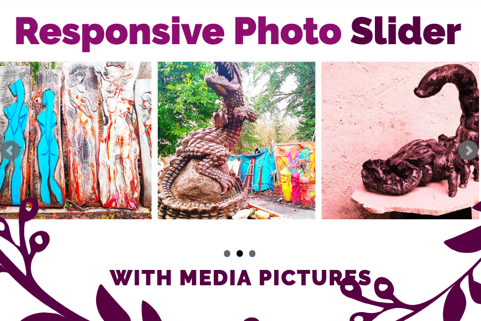 Create a responsive Photo Slider with Media pictures - Premium