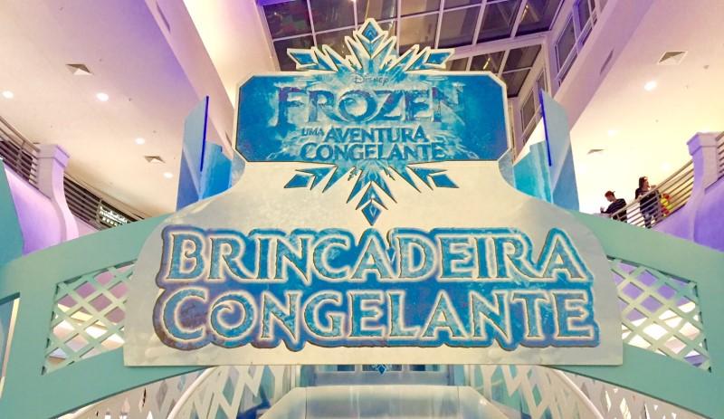Aventura congelante de Frozen no Mooca Plaza Shopping