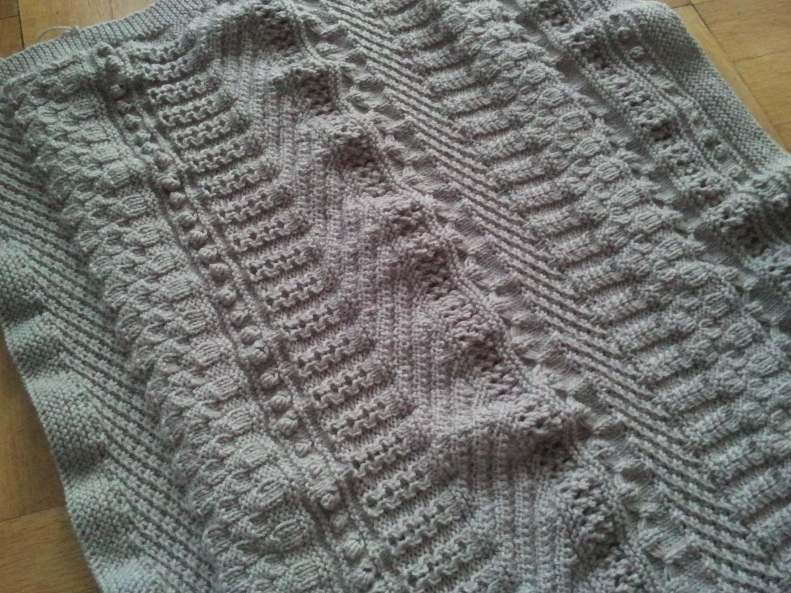 Babydecke Maße Tirees Knitting Stricken Garne