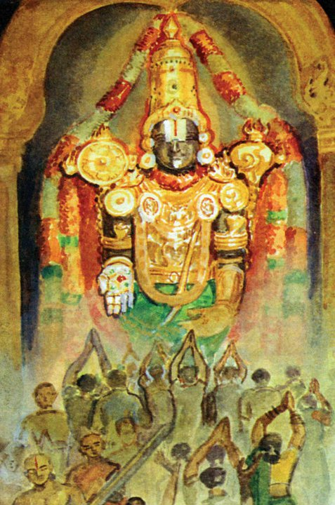 Tirumala Hd Wallpapers Sri Venkateswara Swamy Paintings Tirumala Tirupati Vaibhavam