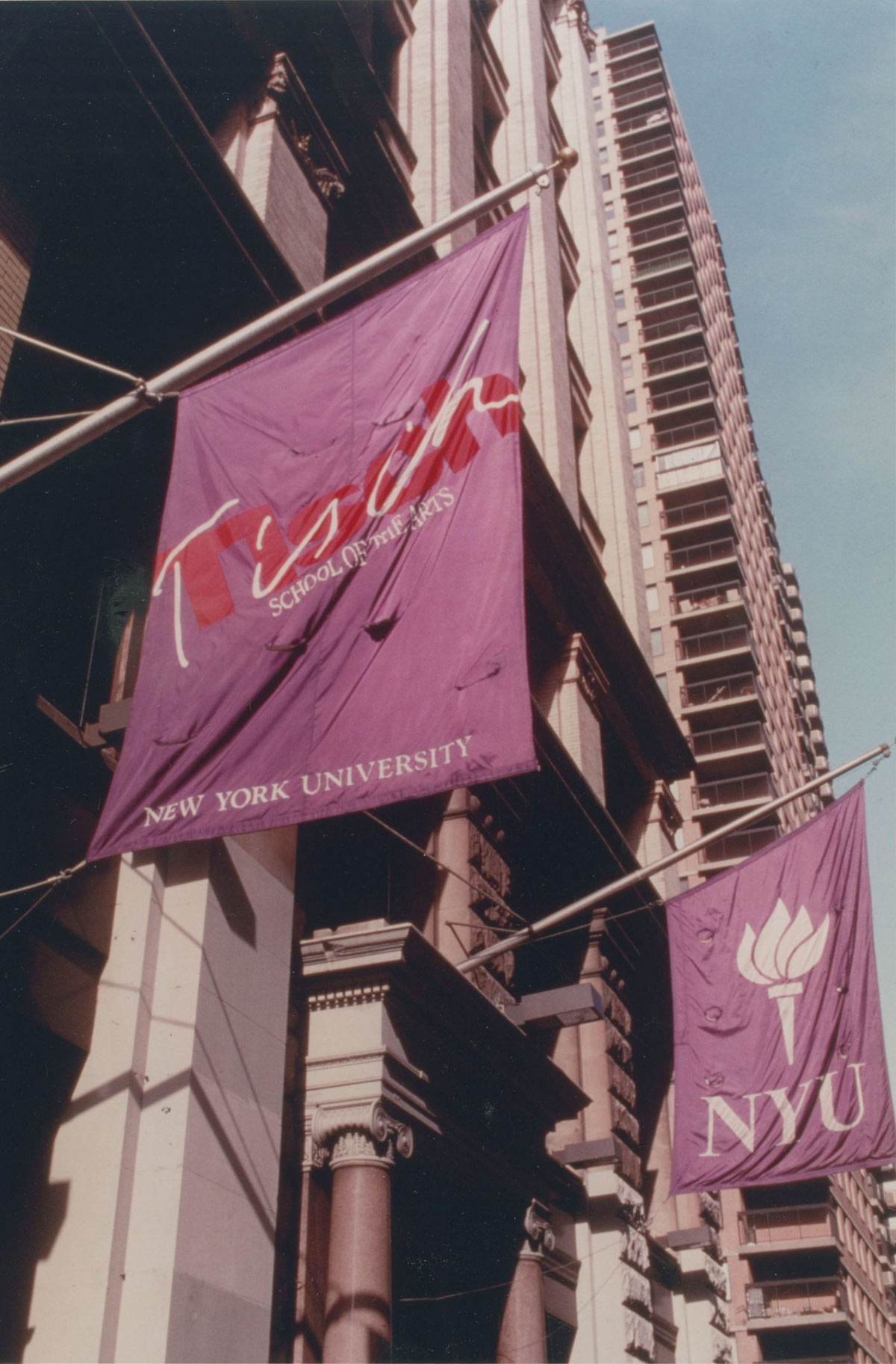 Nyu Tisch School Of The Arts Location 1980 2000
