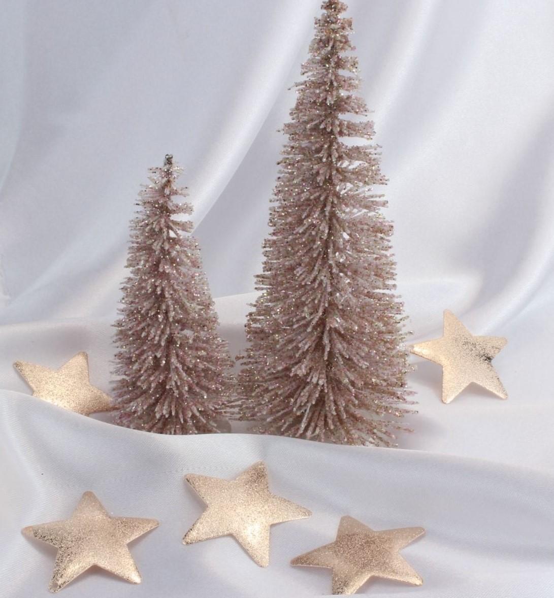 Weihnachtsdeko Rosegold Weihnachtskugeln Gold Traumhafte