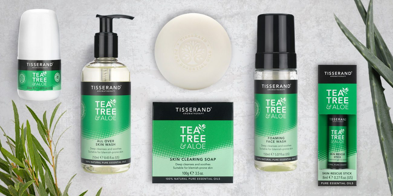 Aloe Vera Essen The New Tea Tree Aloe Collection From Tisserand Aromatherapy