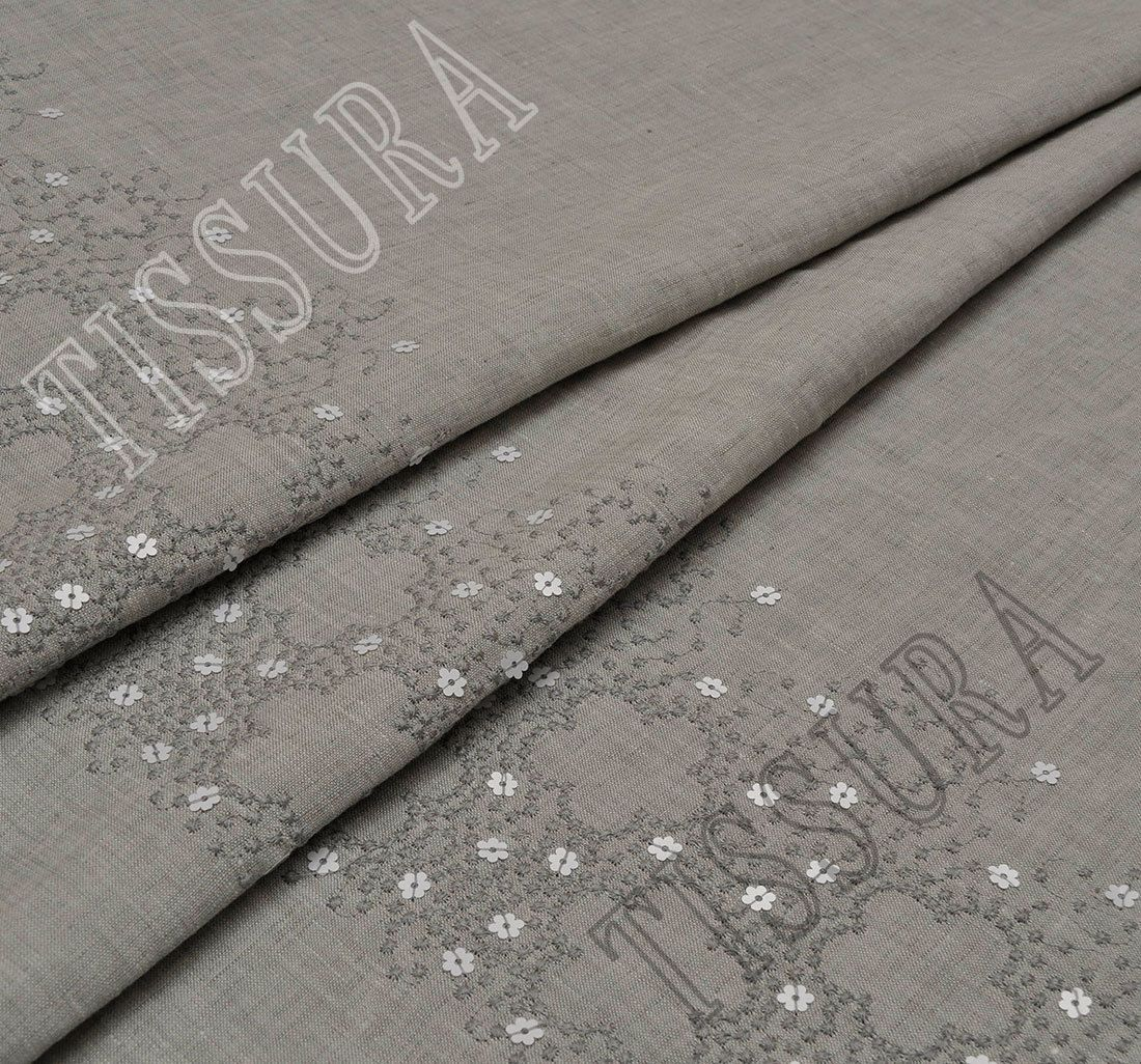 Linen Fabric Online Embroidered Linen Fabric Fabrics From Austria By Hoh Sku