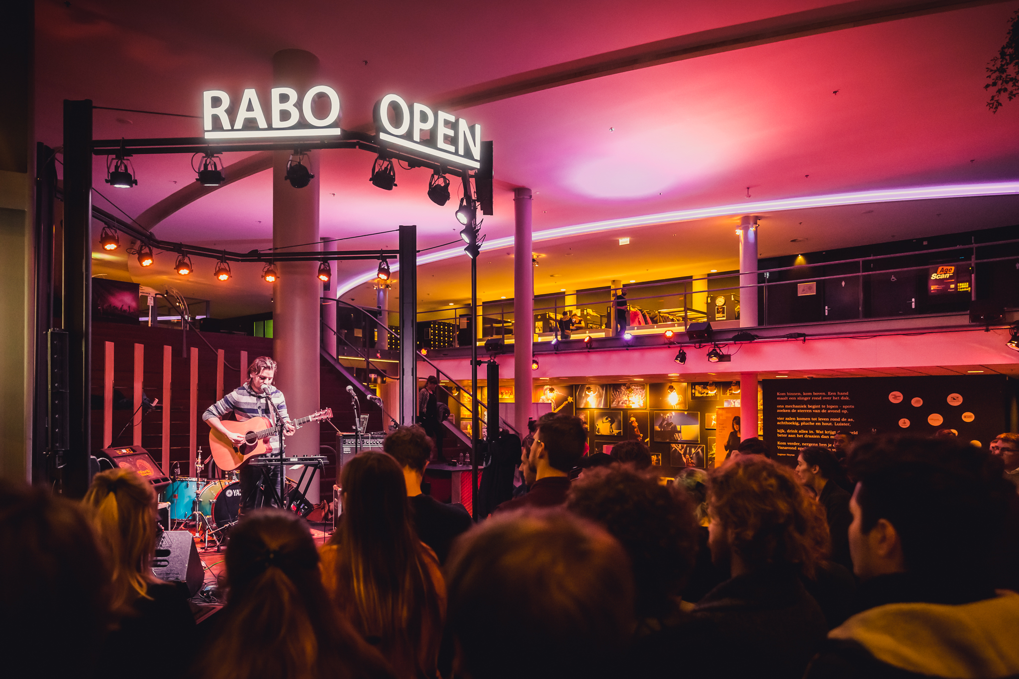 Tivolivredenburg Restaurants Rabo Open Stage Tivolivredenburg