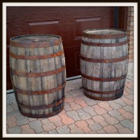 Whiskey into Water {Rain Barrel DIY} | tixeretne