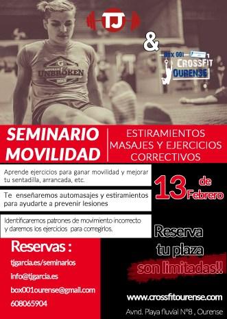Seminario movilidad crossfit ourense