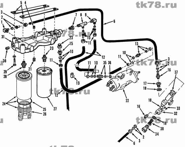 thermo king fuel filter 119342