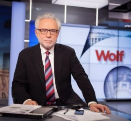 Wolf Blitzer on Wolf
