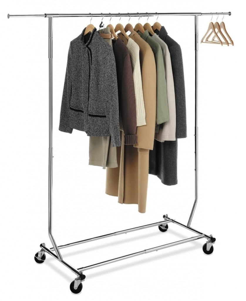 Cloth Rack 5 Best Rolling Garment Rack – Make The Laundry Routine