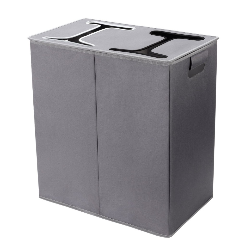 Black Laundry Hamper With Lid 5 Best Double Hamper With Lid Say Goodbye To A Cluttered