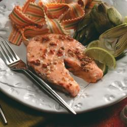Debonair Baked Salmon Steaks Exps48256 Hca1864839b11 20 2bc Rms Salmon Steak Recipe Easy Salmon Steak Recipe Broiled