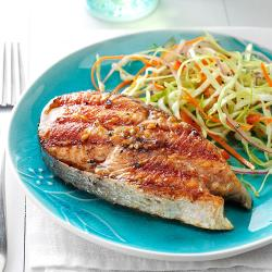 Fantastic Barbecued Alaskan Salmon Exps7971 Git2919402b01 03 6b Rms Salmon Steak Recipe Jamie Oliver Salmon Steak Recipe Pan Fried