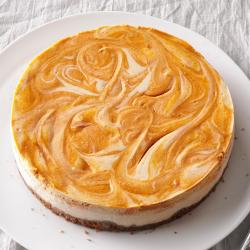 Small Crop Of Pumpkin Swirl Cheesecake