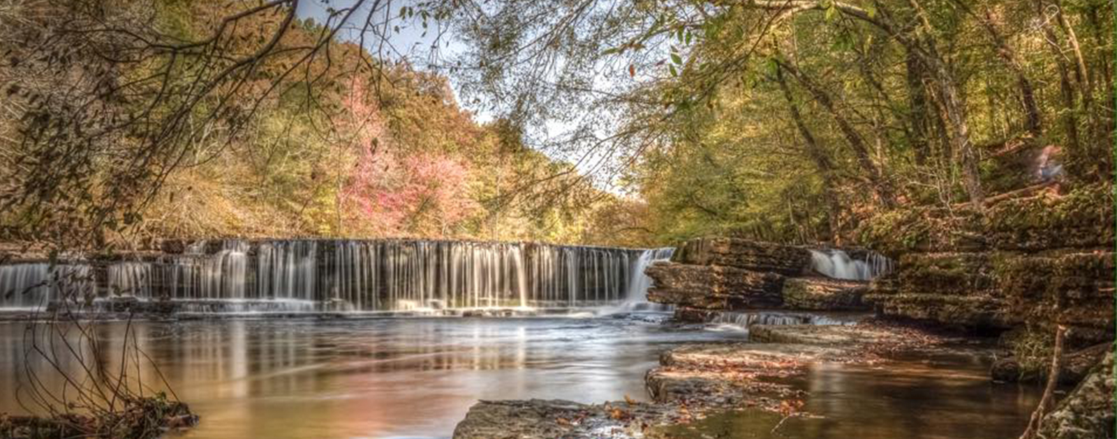 Wallpaper Falling Down Waterfalls Tennessee State Parks